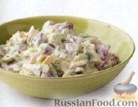 Фото к рецепту: Картофельный салат с укропом