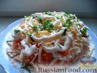 Фото к рецепту: Салат «Французский»