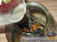 Фото приготовления рецепта: Вино из слив - шаг №5