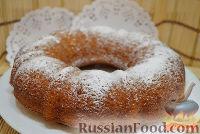 Фото приготовления рецепта: Манник на кефире с тыквой - шаг №6