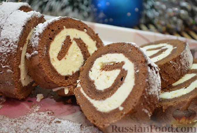 рулет из шоколада рецепт