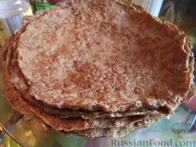 Рецепт печеночный торт с пошаговым фото