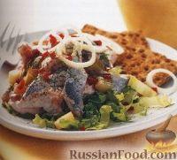 Фото к рецепту: Салат из сельди