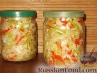 Фото к рецепту: Маринованная сладкая капуста