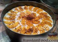 Фото к рецепту: Тортик с персиками