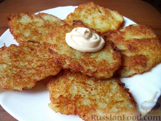 Как сделать драники из картошки рецепт
