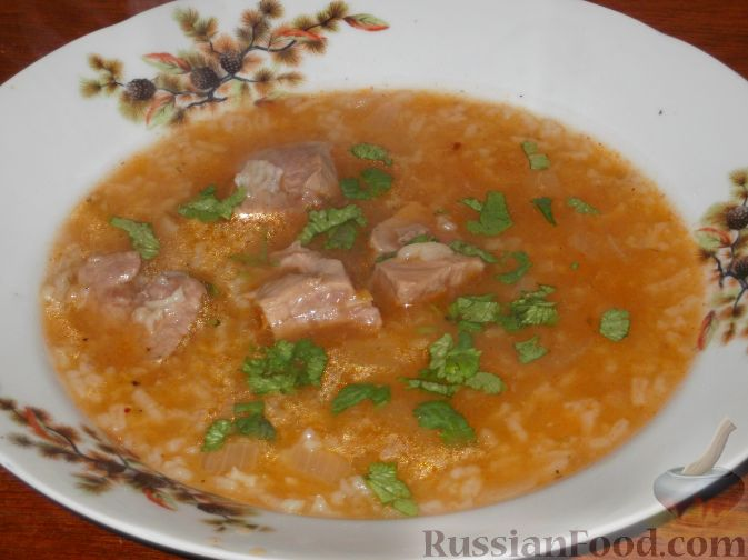 суп харчо по грузински рецепт фото видео