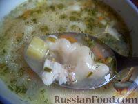 Фото к рецепту: Суп рыбный с клецками