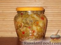 Фото к рецепту: Зеленые помидоры по-армянски