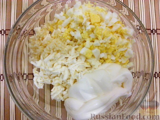 салат из плавленного сырка рецепт