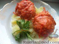 Фото к рецепту: Мясные тефтели с геркулесом
