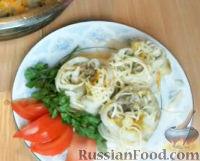 Фото к рецепту: Салангани, фаршированные мясом