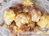 Фото к рецепту: Цветная капуста, запеченная с фаршем