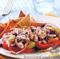 Фото к рецепту: Салат из тунца