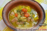 Фото приготовления рецепта: Тушеный гуляш с овощами - шаг №11