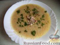 Фото к рецепту: Суп-пюре из курицы