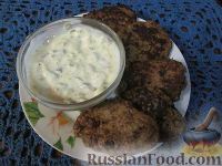 Фото к рецепту: Оладушки из печени с тыквой