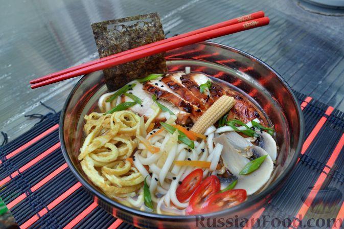 японский суп из курицы фото рецепт