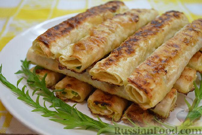 Закуски из армянского лаваша рецепты