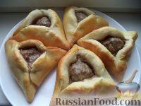 Фото к рецепту: Пирожки печеные с мясом