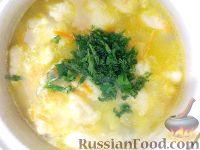 Фото приготовления рецепта: Суп картофельный с клецками - шаг №12