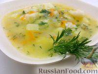Фото приготовления рецепта: Суп картофельный с клецками - шаг №13