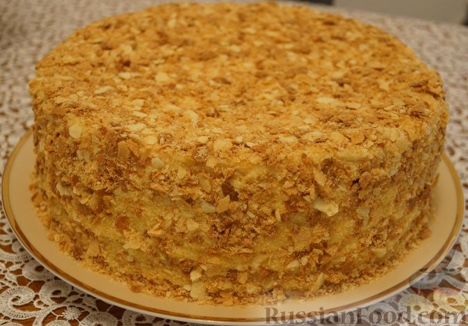 кулинария самый простой рецепт торта наполеон фото