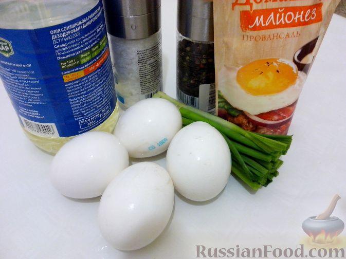 Омлет с майонезом рецепт