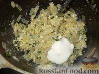 Фото приготовления рецепта: Фаршированные кальмары - шаг №8