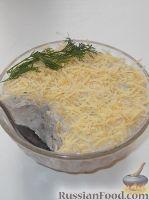 Фото к рецепту: Форшмак из сельди с творогом