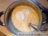 """Фото приготовления рецепта: Творожная запеканка """"Неженка"""" - шаг №3"""