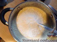 """Фото приготовления рецепта: Творожная запеканка """"Неженка"""" - шаг №4"""