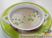 Фото к рецепту: Суп-пюре грибной по-французски