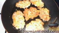 Фото к рецепту: Рубленые котлетки с сыром