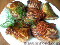 Фото к рецепту: Жареная скумбрия