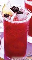 Фото к рецепту: Лимонад с ежевикой